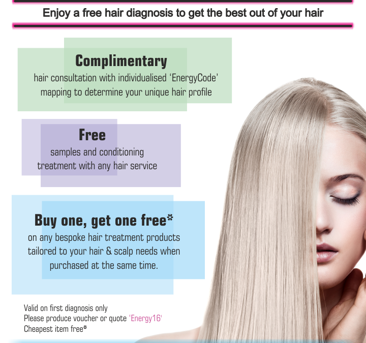 Enjoy a free hair diagnosis to get the best out of your hair